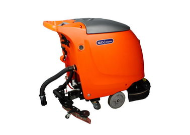 Colored Self Propelled Floor Cleaning Machines / Warehouse Walk Behind Scrubber Dryer